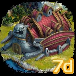 Драконий форт на 7 дней