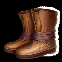 Расшитые Ботинки