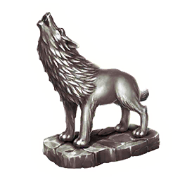 Статуэтка Волка