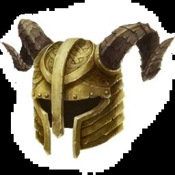 Позолоченный Шлем