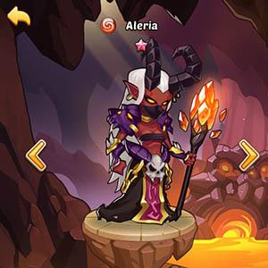 Aleria guide idle heroes