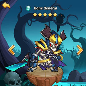Bone General guide idle heroes
