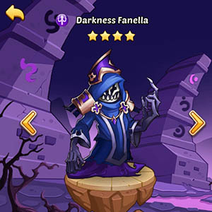 Darkness Fanella guide idle heroes