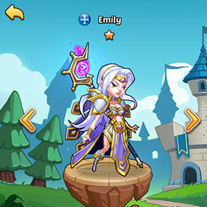 Emily guide idle heroes
