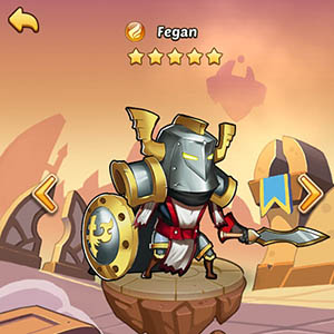 Fegan guide idle heroes
