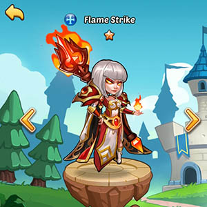 Flame Strike guide idle heroes