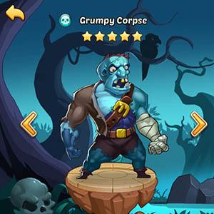 Grumpy Corpse guide idle heroes