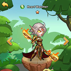 Heart Watcher guide idle heroes