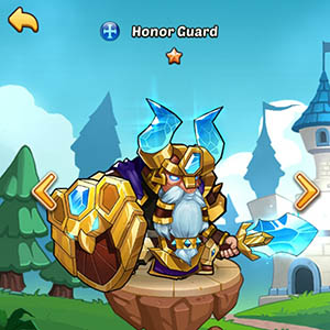 Honor Guard guide idle heroes