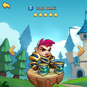 Iron Bambi guide idle heroes