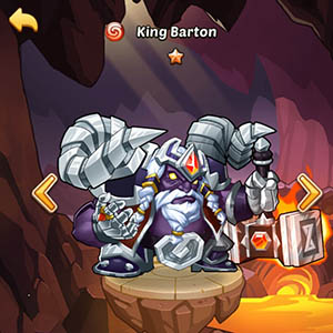 King Barton guide idle heroes