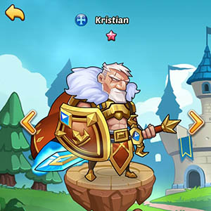 Kristian guide idle heroes