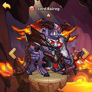 Lord Balrog guide idle heroes