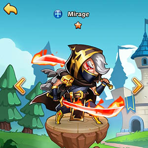 Mirage guide idle heroes