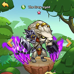 The Grey-eyed guide idle heroes