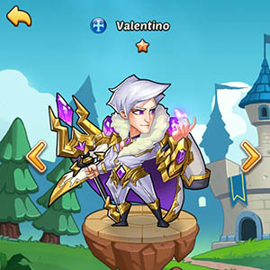 Valentino guide idle heroes