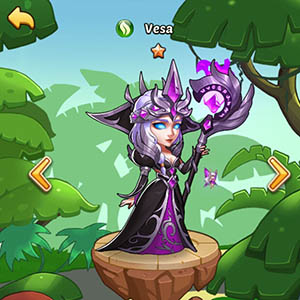 Vesa guide idle heroes