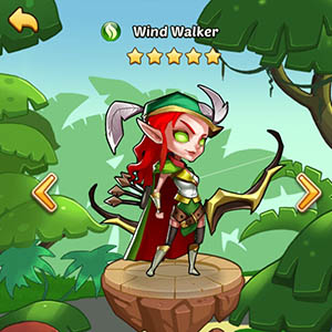 Wind Walker guide idle heroes