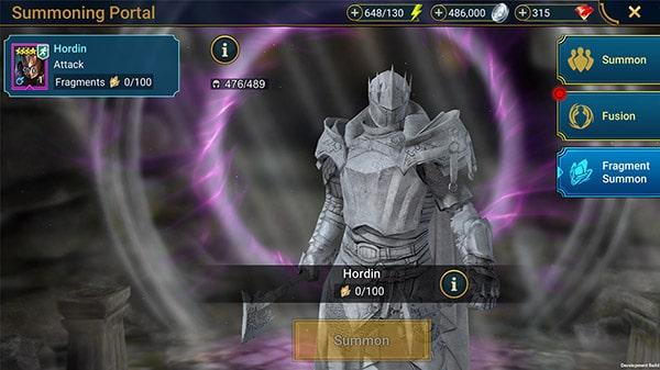 Фрагменты карточки героев в Raid: Shadow Legends