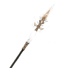 Белая кисть Genshin Impact