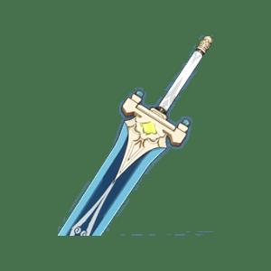 Большой меч небесного всадника Genshin Impact
