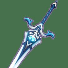 Церемониальный двуручный меч Genshin Impact