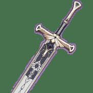 Двуручный меч Фавония Genshin Impact