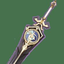 Меч-колокол Genshin Impact