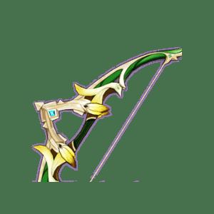 Зелёный лук гайд Genshin Impact
