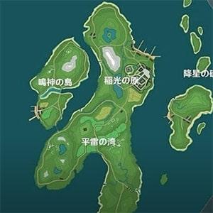 Регион Инадзума в игре Genshin Impact