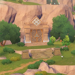 Храм Сокола в игре Геншин Импакт