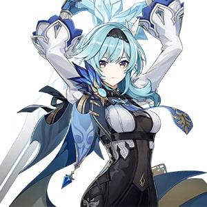 Эола в игре Genshin Impact