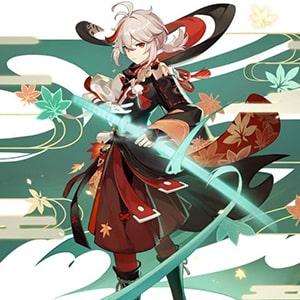 Кадзуха в игре Genshin Impact