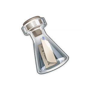 Дрейфующая бутыль в Genshin Impact