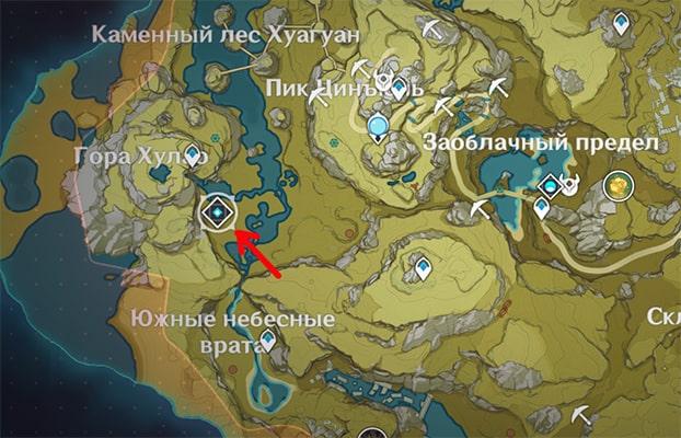 Где найти Аждаху в Genshin Impact