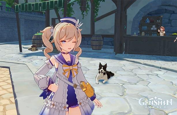 Где найти скриншоты в игре Genshin Impact