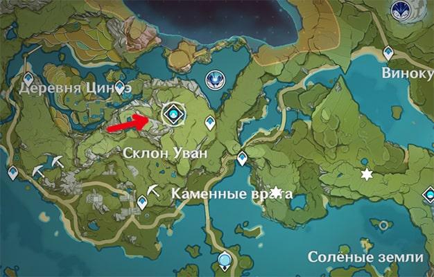 Как открыть Скрытый дворец Уван в Genshin Impact