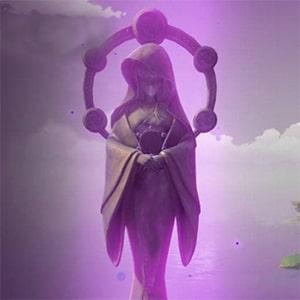 Статуя Электро Архонта в игре Genshin Impact